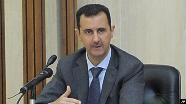 Syria's President Bashar al-Assad, Aug 17, 2011