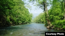 Sông Jackson ở vùng núi Virginia