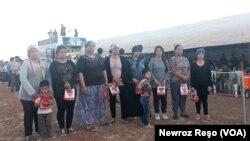Roja Sporê li Kampa Penaberên Efrînê