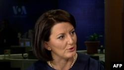 Jahjaga: Në Uashington mora mesazhin e mbështetjes së vazhdueshme për Kosovën