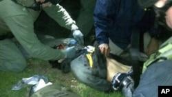 جوهر سارنایف هنگام دستگیری مجروح شد