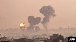 Военные действия в Секторе Газа (фото 11 мая 2021 г.)