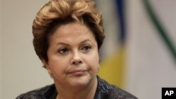 Brazilska predsednica Dilma Rusef