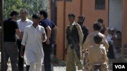 Autooridades pakistaníes recuperaron material y detuvieron a las viudas de bin Laden en la casa donde fue abatido en Abbottabad.