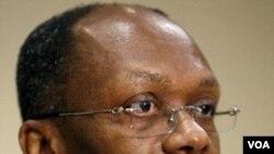 Ansyen Prezidan ayisyen an Jean-Bertrand Aristide