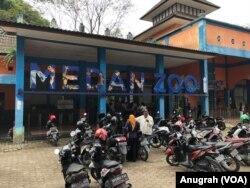Medan Zoo di Sumatra Utara. Sabtu 25 Januari 2020. (Foto: VOA/Anugrah Andriansyah)