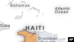 U.N. Special Envoy Clinton in Haiti