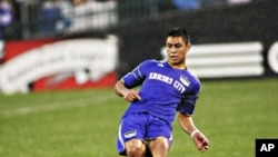 Kansas City Wizards star Roger Espinoza will play for his native Honduras in the World Cup.