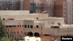 Yemen'in başkenti Sana'da kapatılan ABD elçiliği