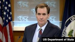 美國國務院發言人柯比(資料圖片來源:美國國務院)