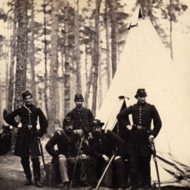 Officers of the 4th Vermont Regiment by George Houghton