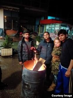 Akcija za migrante u Tuzli