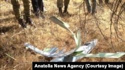 Snimak bespilotne letelice koju su oborile turske snage