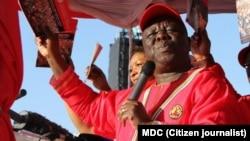 MDC-T leader Morgan Tsvangirai