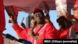 MDC-T leader Morgan Tsvangirai.