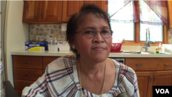 Ms. Samoeun Por, a Cambodian-American resident of Richmond, Virginia. (Men Kimseng/VOA Khmer)