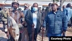 Induna uJubane uvalelisa iNdlovukazi uShiyiwe Mantfombi Dlamini Zulu. (Photo: Thuso Khumalo)