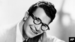 FILE - This 1956 file photo shows Dave Brubeck, American composer, pianist and jazz musician.
