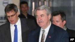麥金尼2019年1月在北京參加美中經貿副部長級磋商(美聯社)