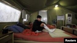 بین الاقوامی ریڈ کراس کمیٹی کا پشاور میں اسپتال بھی گزشتہ چار ماہ سے بند ہے۔ (فائل فوٹو)