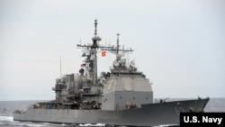"""美国海军第七舰队导弹巡洋舰""""考彭斯号"""" (美国海军)"""