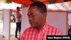 Orsi Emmanuel Bokodi, représentant des réfugiés au Burkina, 21 juin 2017. (VOA/Issa Napon)