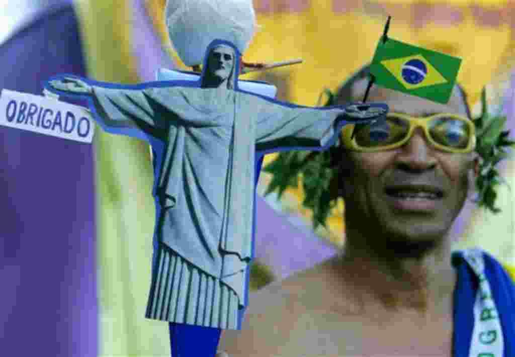 La imagen del Cristo Redentor se ha convertido para muchos en ícono brasilero.