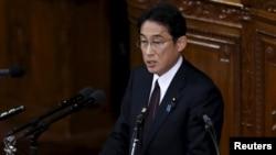 日本外务大臣岸田文雄(Fumio Kishida)