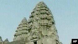 柬埔寨的吴哥窟古迹