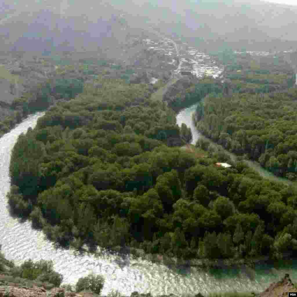روستای مارکده در استان چهار محال و بختیاری عکس: الیاس عرب(ارسالی از شما)