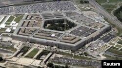 Foto dari udara bangunan markas besar Departemen Pertahanan Amerika Serikat, The Pentagon (Foto: dok).