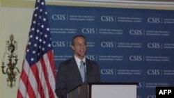 美國貿易副代表馬蘭蒂斯闡述政府貿易策略(資料照片)
