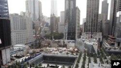 une vue de la cérémonie de New York