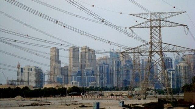 Rapid development in Dubai is straining the emirate's power supplies, 12 Dec 2009