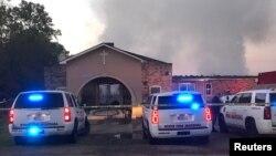 Požar u baptističkoj crkvi u Opelusasu, u Luizijani