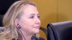 Hillary Clinton, Katherine Ashton, vizite ne Kosove
