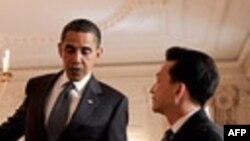 تاکید اوباما بر همکاری جهانی برای مقابله با گسترش تسلیحات اتمی