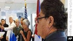 Cuban-Americans Rally Support for Honduras Government