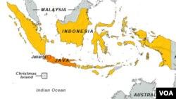 Peta wilayah Indonesia (Foto: dok).