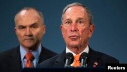 Magajin garin birnin New York Michael Bloomberg