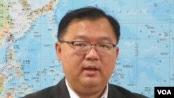 台灣最大在野黨國民黨立委李德維 (美國之音張永泰拍攝)