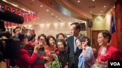 国民党主席朱立伦抵达纽约