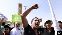 Người Hồi giáo Iraq giận dữ biểu tình tại Baghdad, ngày 14/9/2012