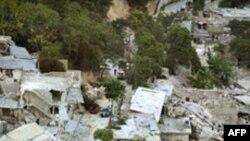 海地首都太子港大地震后