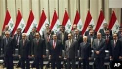 伊拉克新内阁宣誓就职