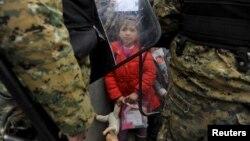 Migranti na granici Grčke i Makedonije