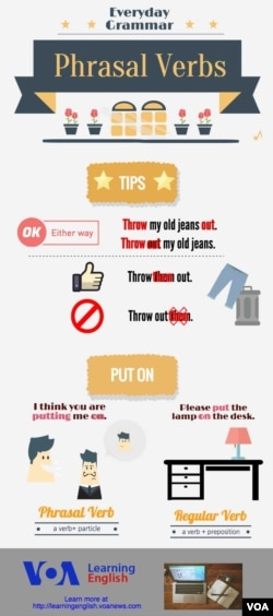 Everyday Grammar - Our Top 10 Separable Phrasal Verbs