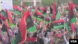 利比亚人为周六选举而群情沸腾(视频截图)