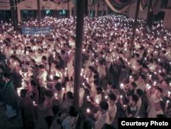 Vigil for Le Quoc Quan, July 7, 2013