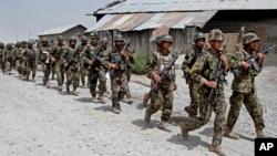 Liên minh đã bàn giao trách nhiệm an ninh cho các lực lượng Afghanistan.